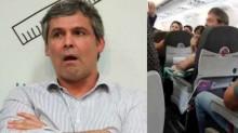 Lindbergh, sem mandato, cassado, condenado e xingado dentro do avião (veja o vídeo)