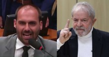 Eduardo Bolsonaro diz que Lula não terá tranquilidade para sair nas ruas (veja o vídeo)