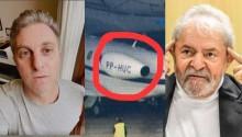 Huck, Lula, o avião e a mentira que cai por terra