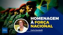 Iniciativa de deputada homenageia os verdadeiros heróis do Brasil, os bravos soldados que garantem a paz (veja o vídeo)