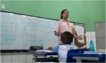 Professor diz em sala de aula que Bolsonaro mandou matar Marielle e crianças filmam (veja o vídeo)