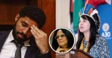 """""""Verborragia racista é a apologia à cultura da morte feita por David Miranda"""", diz Sandra Terena em defesa de Damares"""