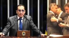 """Kajuru flagra Alcolumbre em """"confidências"""" com Aécio e pede desculpas ao Brasil (veja o vídeo)"""