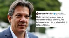 """""""Vergonha alheia"""" do ex-ministro da educação que não sabe escrever """"racismo"""""""