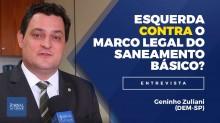Quase metade dos brasileiros não tem coleta de esgoto, mesmo assim, a esquerda não quer aprovar o Marco Legal do Saneamento Básico (veja o vídeo)