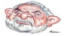 Lula, a caricatura de um sacripanta