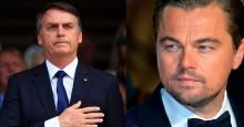 Bolsonaro não mencionou Leonardo DiCaprio sem indícios, ao contrário do que apregoa a extrema-imprensa