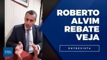 "Exclusivo: Roberto Alvim rebate Veja e desmoraliza ""denúncia vazia"" da revista (veja o vídeo)"