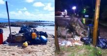 Morador denuncia situação alarmante e crime ambiental em praias do Morro de São Paulo, na Bahia