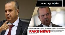 Secretário chama de FAKE NEWS matéria de O Antagonista que acusa o Governo de preparar a volta do Imposto Sindical