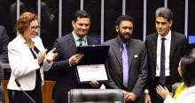 Sérgio Moro faz discurso histórico após ser homenageado no Dia Internacional de Combate a Corrupção (veja o vídeo)