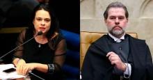 """Janaína sobre Toffoli: """"(ele) crê que um pouco de corrupção faz bem à Economia"""""""