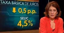 """""""Obrigada"""" a dar as boas notícias do governo, Rede Globo omite o nome de Bolsonaro (veja o vídeo)"""