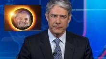 """Para o """"atordoado"""" Bonner, lua vira """"Lula"""", ao vivo (veja o vídeo)"""