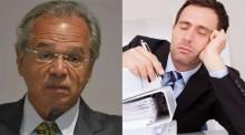 """Guedes quer """"demissão de servidor público por mau desempenho"""""""