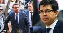 """Bolsonaro ironiza o senador """"Randolfe DPVAT"""": """"Fala fino [...] nhé nhé nhé"""" (veja o vídeo)"""