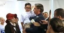 """Menino venezuelano agradece Bolsonaro por lhe dar alimento e afirma: """"Meu maior sonho é ser como o senhor para reconstruir meu país"""" (veja o vídeo)"""