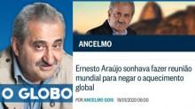 """Após a """"japonesa"""" que lê pensamentos, surge o colunista de O Globo que vê o """"sonho"""" alheio"""