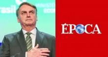 Época publica pequena fofoca sobre Bolsonaro e é arrasada na internet
