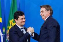 """A ideia de tirar a segurança de Moro jamais será efetivada, é só mais uma """"pegadinha"""" de Bolsonaro"""