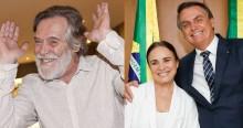 Zé de Abreu é incansável e covarde nos ataques a Regina Duarte