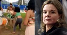"""Vídeo desmascara Gleisi e feministas sobre suposto """"abuso de autoridade"""" da PM em Matinhos"""