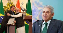"General Heleno comemora parcerias entre Brasil e Índia: ""Recorde de acordos"""