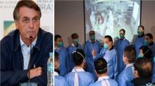 """AO VIVO: Bolsonaro fala sobre """"O Dia do Resgate"""" de brasileiros na China (veja o vídeo)"""