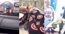 Confie na polícia: Família é escoltada pela PM para transplante de coração do filho de 2 anos (veja o vídeo)