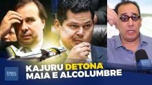 EXCLUSIVO: Kajuru critica a farra de Maia e Alcolumbre nos aviões da FAB (veja o vídeo)