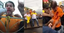 Truculento, Cid Gomes tenta impor a força contra policiais e leva dois tiros no Ceará (veja os vídeos)