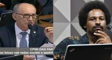 Rui Falcão é fraco e mentiroso: Basta comparar o que afirmou na semana passada e o que disse ontem (veja o vídeo)