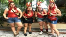 """""""Folguedos de carnaval"""" de uma deputada de extrema-esquerda"""