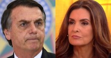Fátima Bernardes surta e associa fala de Bolsonaro a caso de assédio no RS (veja o vídeo)