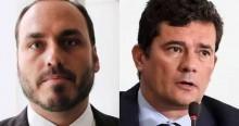 """Carlos sai em defesa de Moro e detona a Folha: """"Vocês são o que há de pior no jornalismo"""""""
