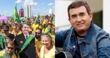 Amado Batista enaltece Bolsonaro e convoca o povo para a manifestação do dia 15 (veja o vídeo)