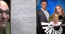 Em carta Suzy tenta limpar barra da Rede Globo (veja o vídeo)