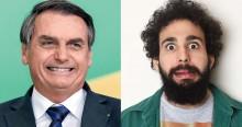 Com bom humor, Murilo Couto satiriza jornalistas e elogia simplicidade de Bolsonaro (veja o vídeo)