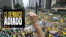 O que a praga dos corruptos não conseguiu, o corona tirou de letra: 15 de março adiado (veja o vídeo)