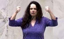 """Janaína """"enlouquece"""" e pede Mourão na presidência (veja o vídeo)"""