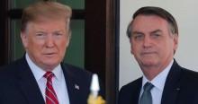 """Trump cala jornalista da Globonews e afirma: """"Bolsonaro é meu aliado número um"""" (veja o vídeo)"""