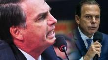 Bolsonaro detona Dória ao vivo, em cena Hollywoodiana (veja o vídeo)