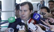 """O momento em que a """"militância jornalística"""" da Rede Globo se evidencia em prol de Rodrigo Maia"""