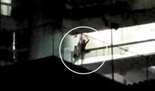 Bandido invade apartamento, luta com morador e morre com facadas (veja o vídeo)