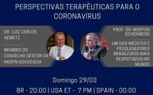 Hoje, não perca LIVE: Perspectivas terapêuticas para o Coronavírus