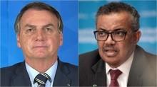 """URGENTE: """"OMS se associa a Jair Bolsonaro"""", diz presidente (veja o vídeo)"""