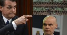 """Após imagens de valas em cemitério de SP, Bolsonaro detona Bruno Covas: """"Que vergonha para o Brasil"""" (veja o vídeo)"""