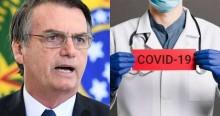 Bolsonaro beneficiará profissionais da saúde residentes com R$ 667,00