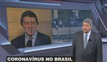"""Médico, coordenador de Doria na pandemia, é questionado por Datena como foi curado e """"resposta"""" é reveladora (veja o vídeo)"""