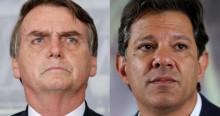 Haddad ataca Bolsonaro e toma fenomenal invertida, sem o uso de nenhuma letra